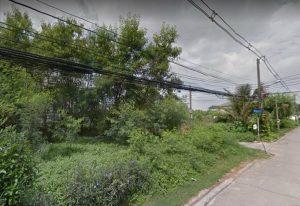ที่ดินประชาชื่น ที่ดินนนทบุรี ปากเกร็ด เลียบคลองประปา ซอยเวชคาม