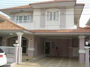 บ้านบางบัวทอง บ้านนนทบุรี ต่อเติมตกแต่งพร้อมอยู่