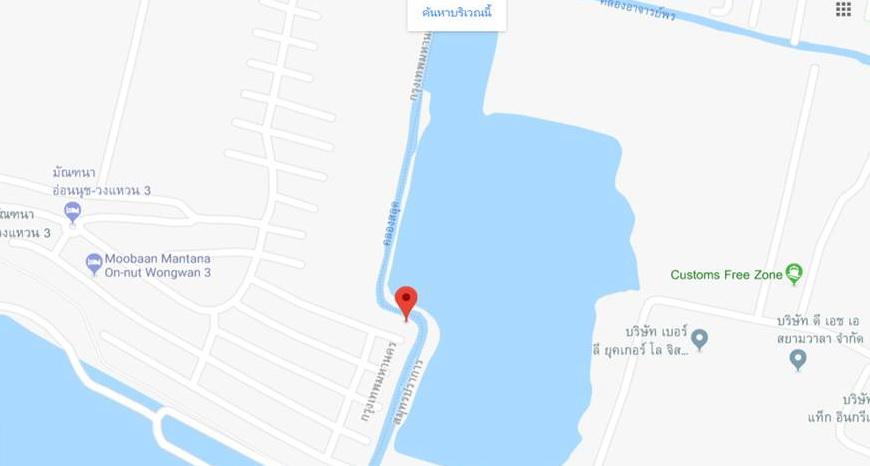 บ้านเดี่ยวอ่อนนุช หัวมุม วงแหวนบางนา มัณฑนาวงแหวน 3 แลนด์แอนด์เฮ้าส์ หลังบ้านติดกับบึงน้ำใหญ่ ใกล้วงแหวนบางนา-บางปะอิน