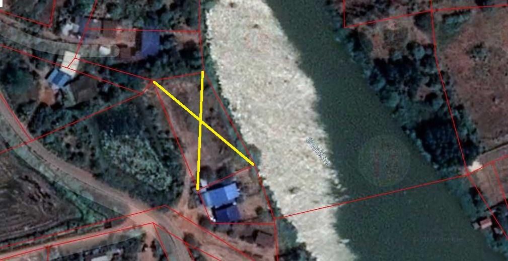 ที่ดินปราจีนบุรี ติดริมแม่น้ำบางปะกง ที่ดินบ้านสร้าง ที่ดินบางกระเบา ติดแม่น้ำกว้าง 60 เมตร ใกล้ตลาดแหล่งชุมชนวัดบ้านสร้าง