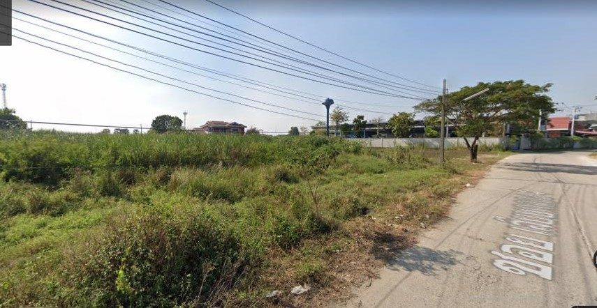 ที่ดินถนนสุวินทวงศ์ ที่ดินมีนบุรี 596 วา ซอย24 จากถนนใหญ่สุวินทวงศ์เพียง 400 เมตร ใกล้มีนบุรี สุขาภิบาล3 รามคำแหง