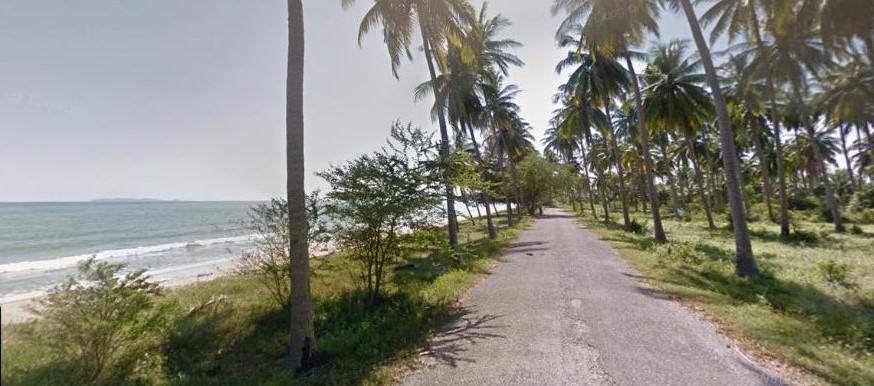ที่ดินบางสะพาน ที่ดินประจวบคีรีขันธ์ 317 ไร่ ติดถนนทางหลวงถึงชายหาดทะเล เป็นชายหาดส่วนตัวติดทะเลยาว 1 กม.